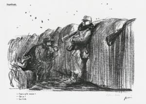 Forain LOpinion Pourvu qu'ils tiennent. Qui ça Les Civils 9 janvier 1915 300x213 BIOGRAPHIE
