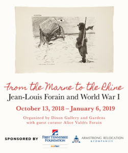 FORAIN WR DRAWINGS EXHIBITION DIXON ALICE VALDES FORAIN CURATOR 251x300 From Marne to the Rhine:           Forain and World War I